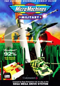 Обложка Micro Machines Military