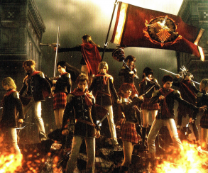 Трейлер Final Fantasy Type-0 HD запечатлел войну в Ориенсе