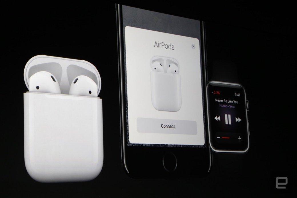 Apple показала беспроводные наушники для iPhone 7 - Изображение 2