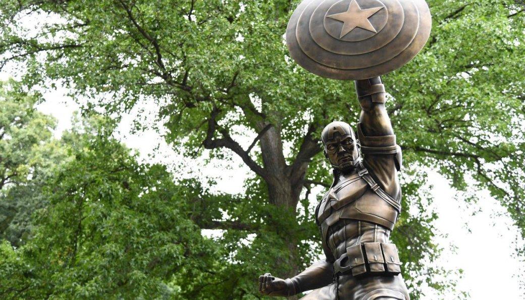 Капитану Америке поставили памятник вНью-Йорке - Изображение 2