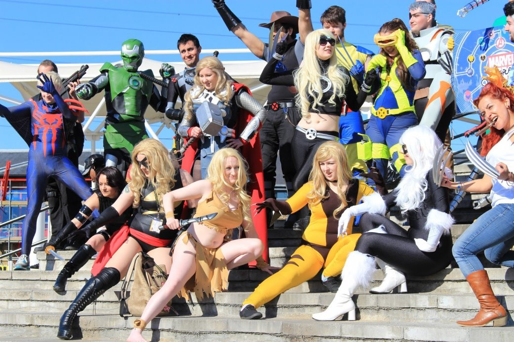 Косплей Comic-Con - Изображение 1
