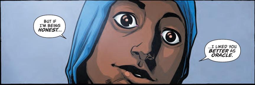 В Batgirl and the Birds of Prey раскрыли личность нового «Оракула» - Изображение 1