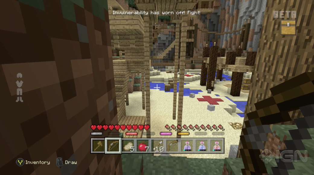 Minecraft получит режим в духе «Голодных игр» - Изображение 1