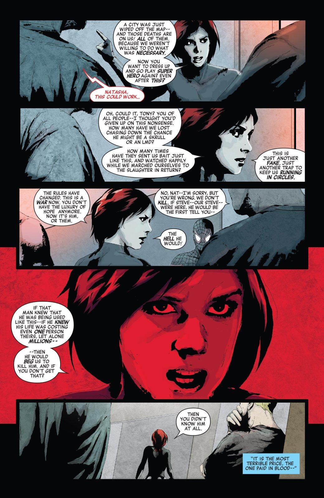 Secret Empire: Гидра сломала супергероев, и теперь они готовы убивать. - Изображение 9
