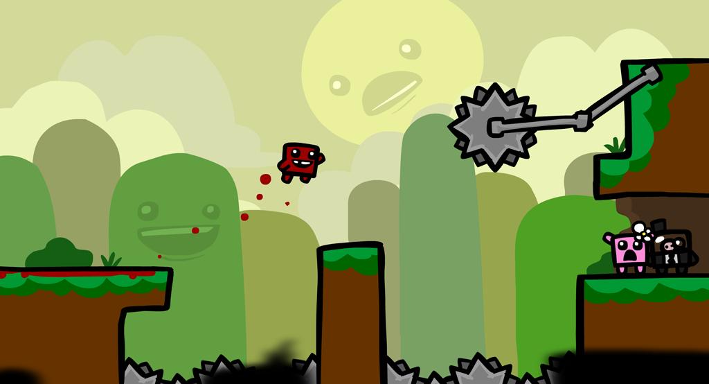 Анонсирована портативная версия Super Meat Boy - Изображение 1