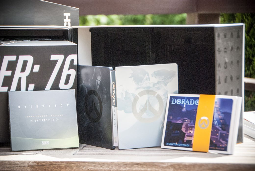 Распаковка коллекционного издания Overwatch - Изображение 7