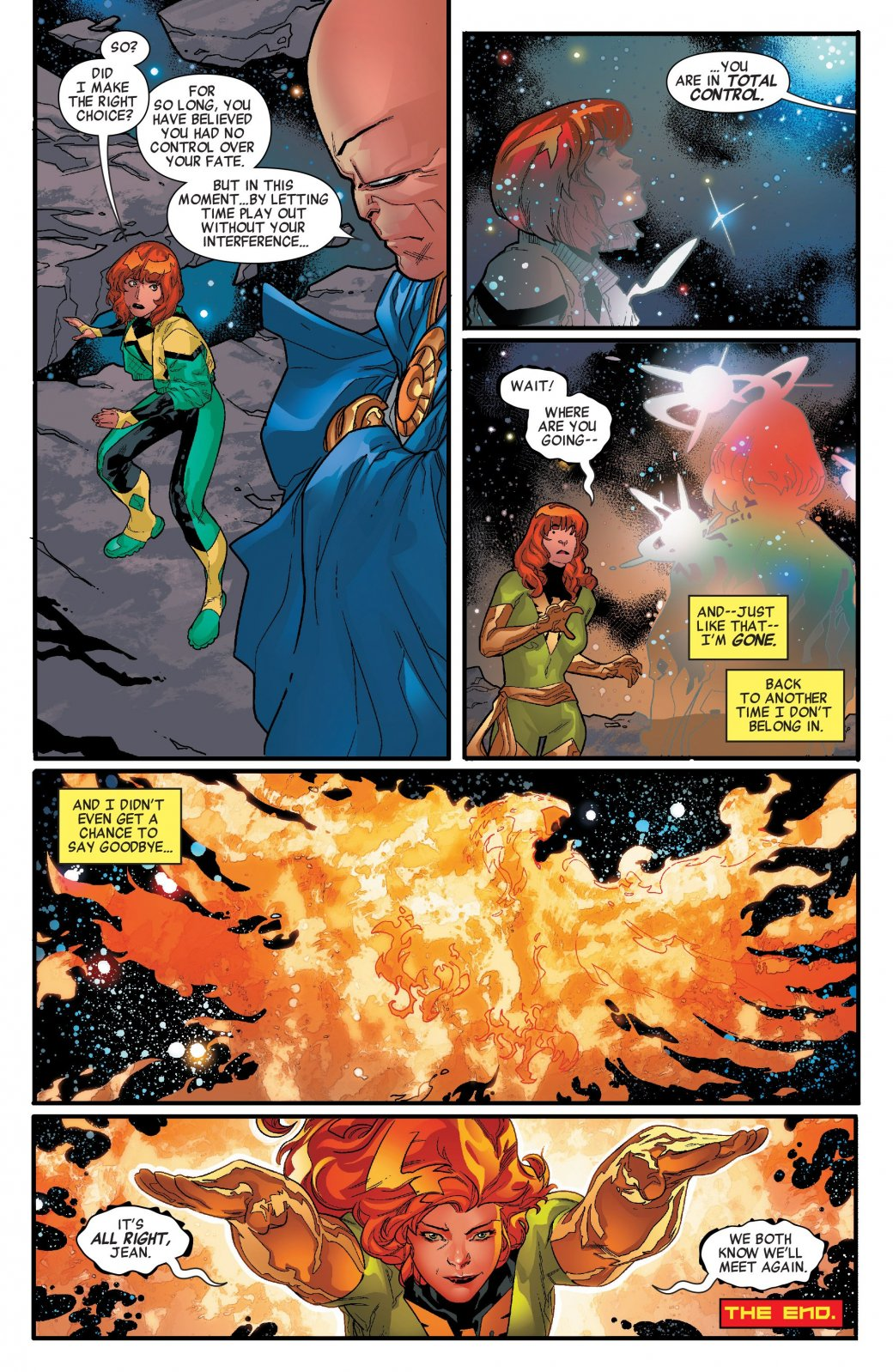 Marvel Generations: Чем закончилась встреча двух Джин Грей?. - Изображение 5