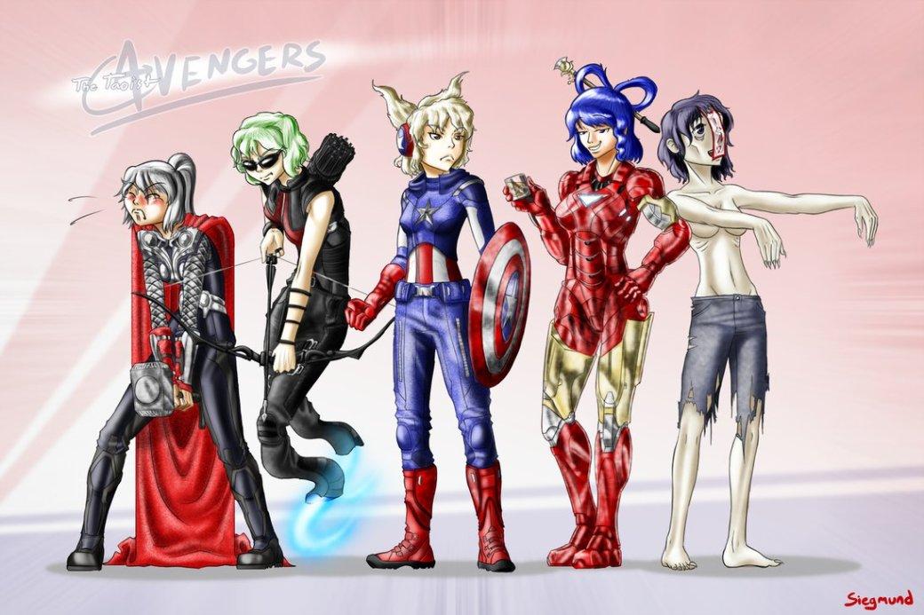 Галерея вариаций: Мстители-женщины, Мстители-дети... - Изображение 20