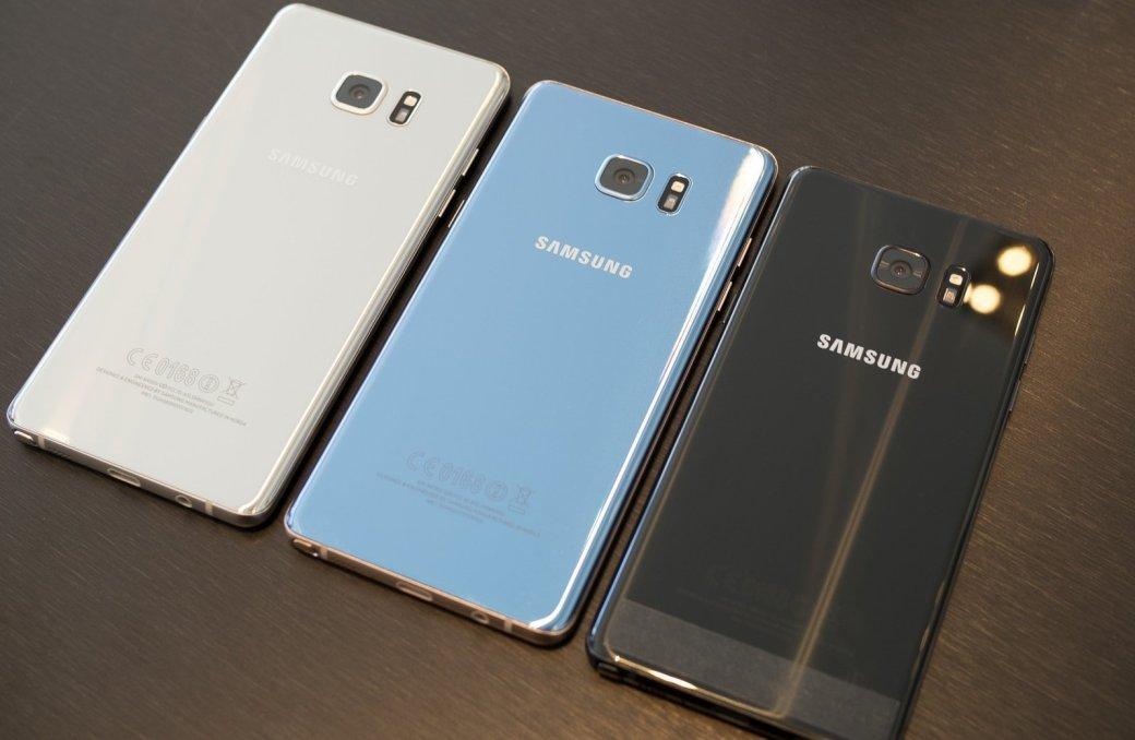 Samsung скоро возобновит продажи «разминированных» Galaxy Note7. - Изображение 1