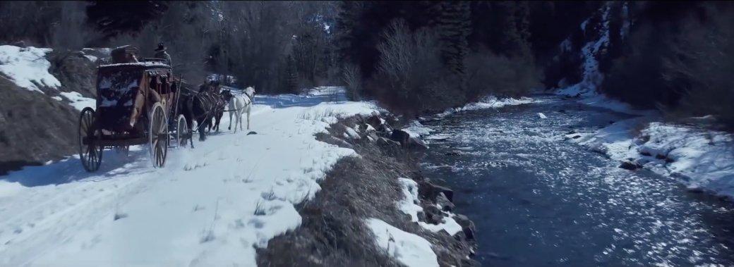 Дженнифер Джейсон Ли затмила всех в трейлере The Hateful Eight - Изображение 8
