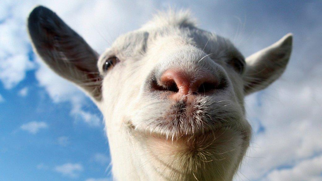 Чамп и Бейсовский попрыгают через козла на стриме по Goat Simulator - Изображение 1
