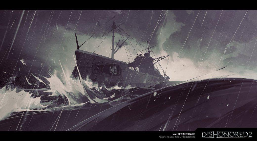 Потрясающие концепт-арты Dishonored 2 отхудожника игры - Изображение 12