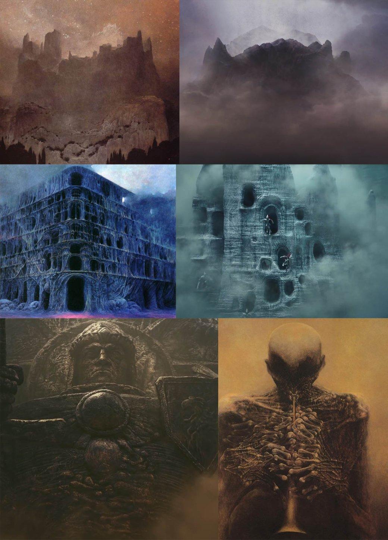 Трейлер Dawn of War III сравнили c картинами Бексиньского - Изображение 1