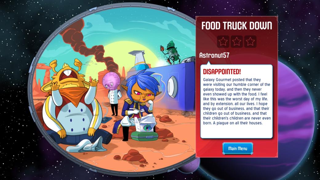 Рецензия на Space Food Truck - Изображение 12