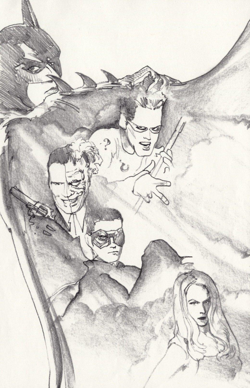 Неопубликованные постеры Джона Элвина - Изображение 7