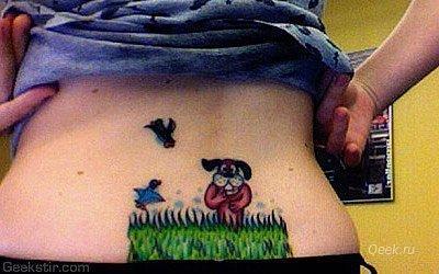 Татуировки фанатов видеоигр. - Изображение 24