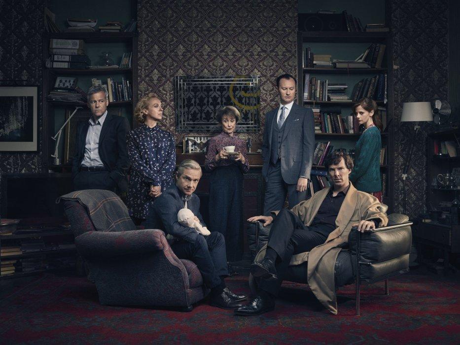 Рецензия на «Шесть Тэтчер», первую серию 4-го сезона «Шерлока». - Изображение 1