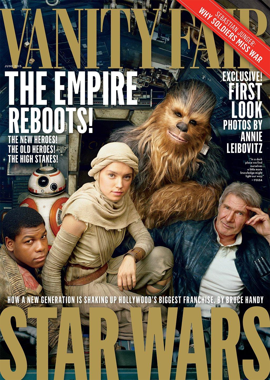 Свежие фотографии старых и новых героев «Звездных войн» - Изображение 1