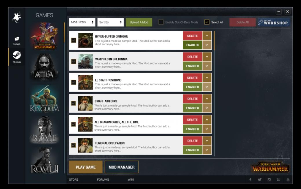 С первых же дней для Total War: Warhammer будут доступны модификации. - Изображение 1