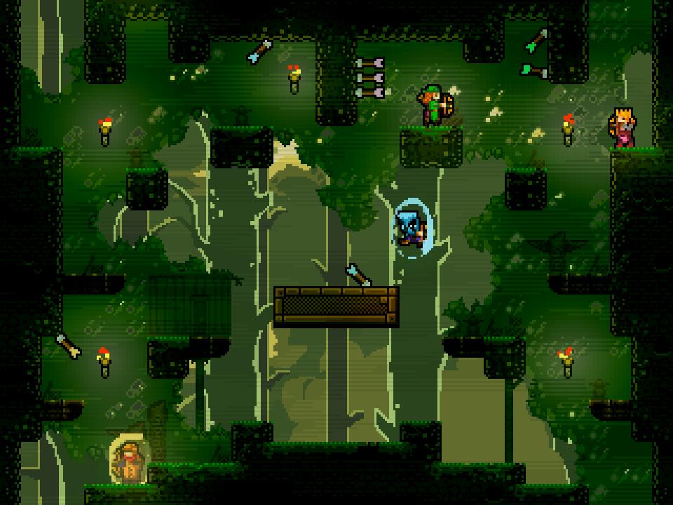 Расширенная версия Towerfall лишится онлайна  - Изображение 1
