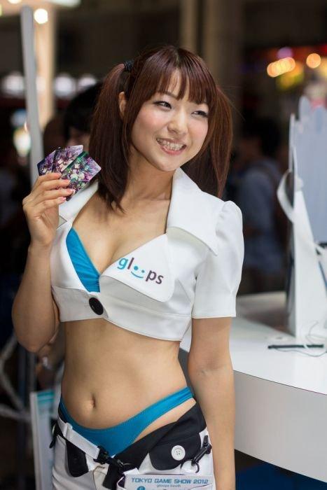 Девушки с Asia Game Show 2012 - Изображение 12