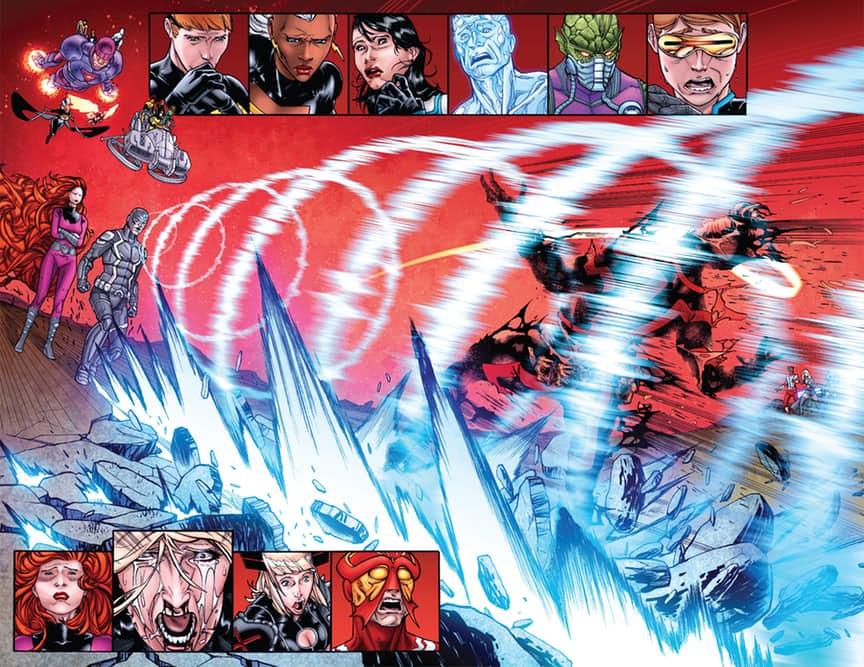 Вфинале комикса Death ofX#4 показали смерть мутанта Циклопа - Изображение 4