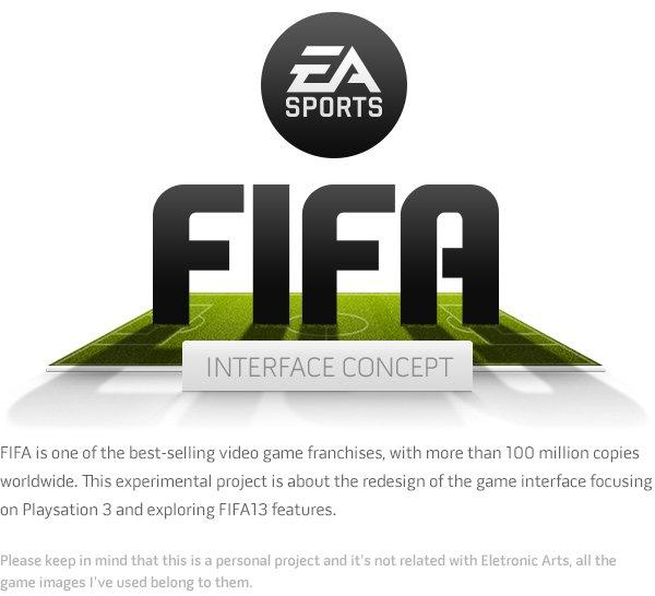 В сети появился дизайнерский прототип интерфейса FIFA - Изображение 1