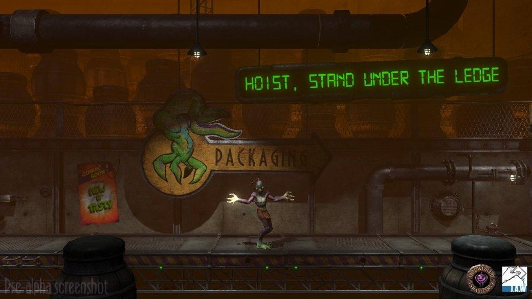 Oddworld: Abe's Oddysee сделают трехмерной - Изображение 2