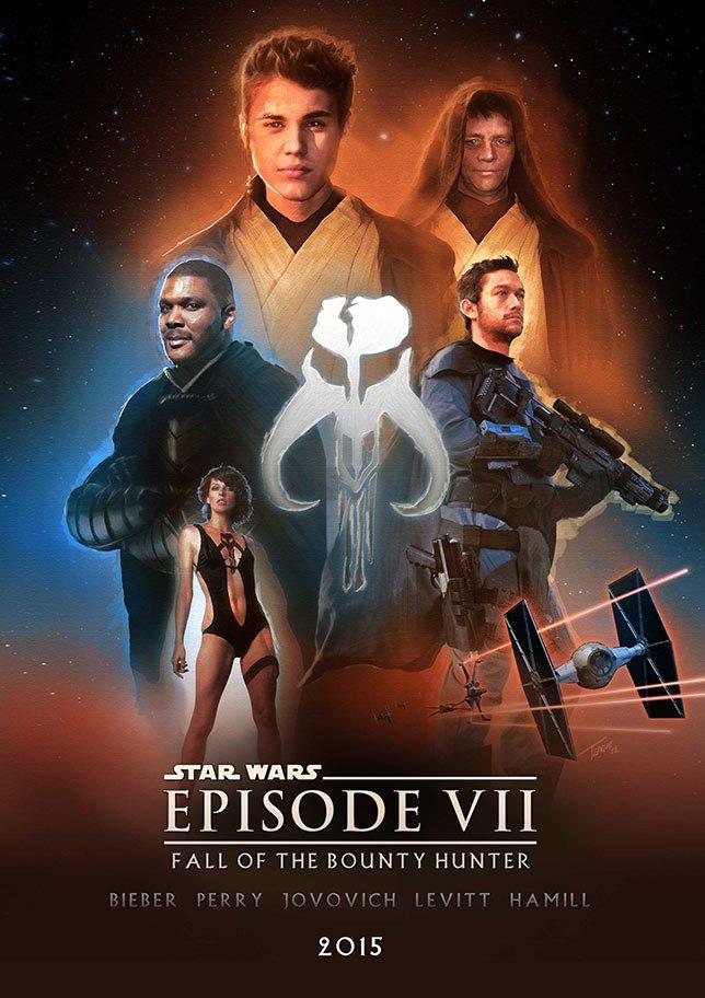 Фанатские постеры Star Wars: Episode VII - Изображение 28