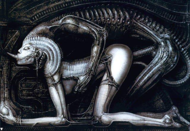 Галерея самых жутких артов Гигера. Страсть, секс истрах - Изображение 18
