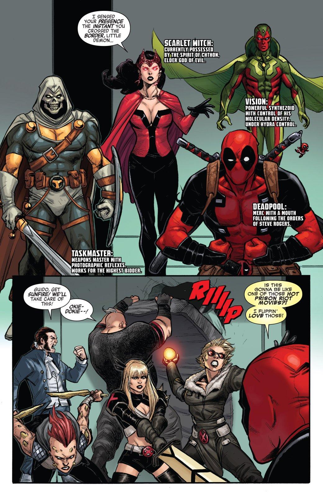 Secret Empire: противостоянию Стива Роджерса иТони Старка нет конца - Изображение 24