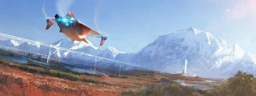 Anno 2205 получила 30 га вечной мерзлоты и футуристический транспорт - Изображение 1