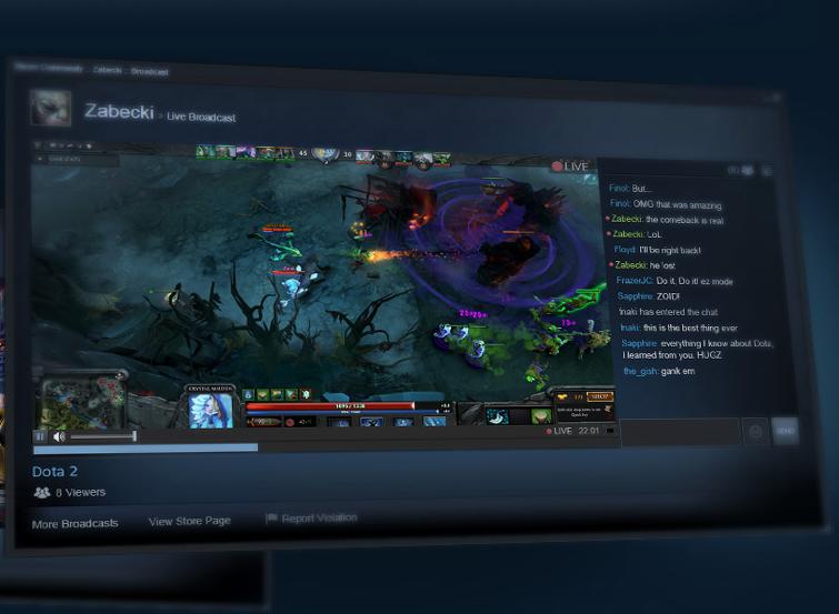 Steam научили транслировать игры - Изображение 1