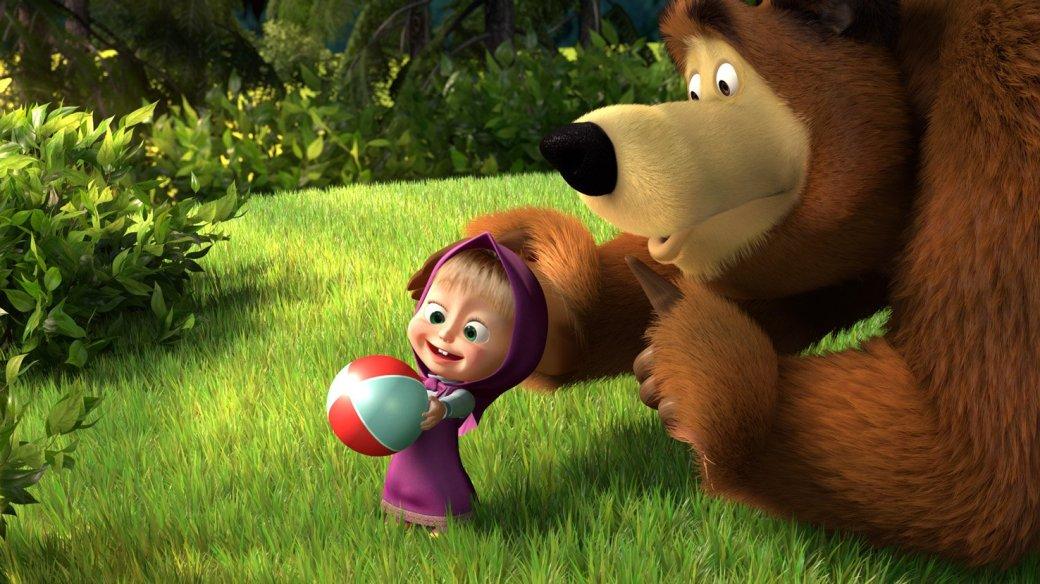 Мультфильм «Маша и Медведь» назвали самым опасным для психики детей - Изображение 1
