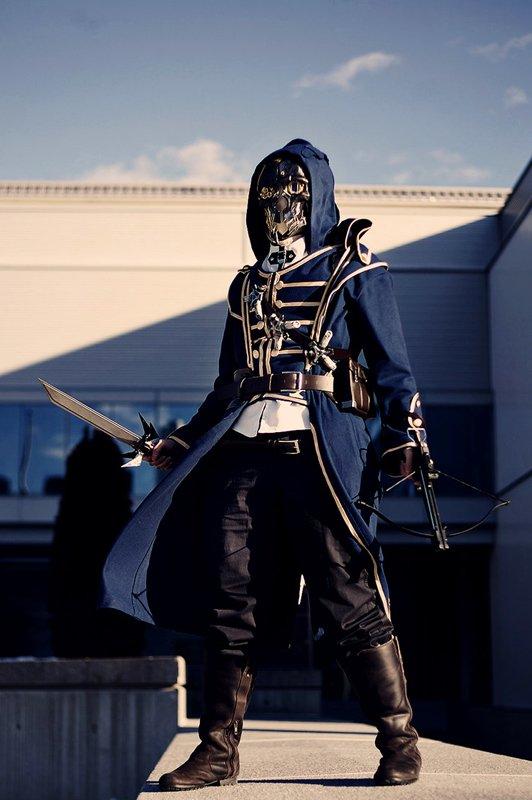 10 лучших косплеев главного героя игры Dishonored. - Изображение 6