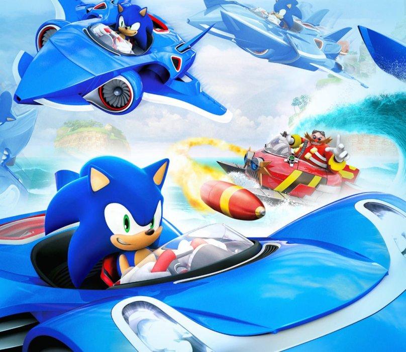 Рецензия на Sonic & All-Stars Racing Transformed - Изображение 1