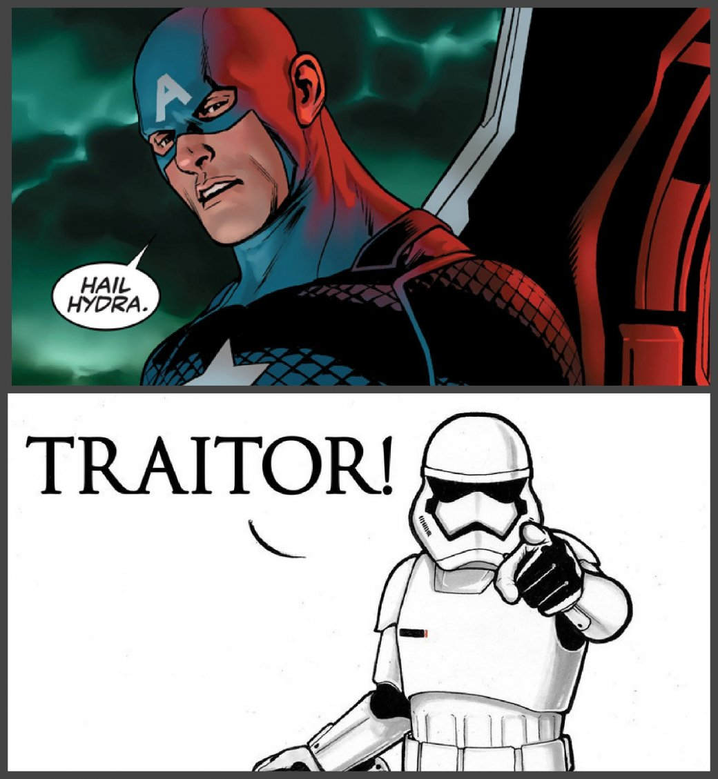 Интернет взбешен тем, что Капитан Америка оказался нацистом. - Изображение 10