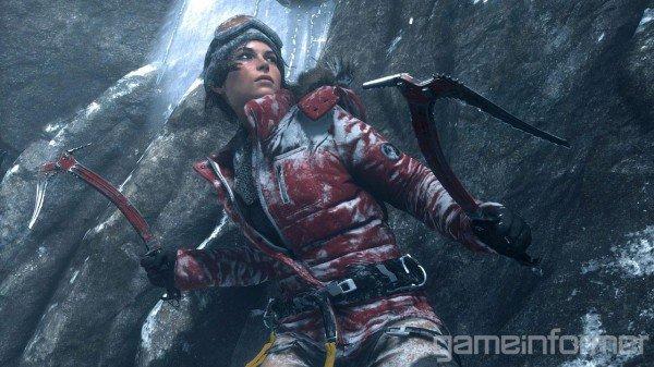 Лара Крофт покоряет Сибирь: обложка Game Informer - Изображение 2