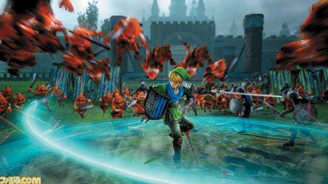 Линк выносит толпы врагов на кадрах из Hyrule Warriors - Изображение 1