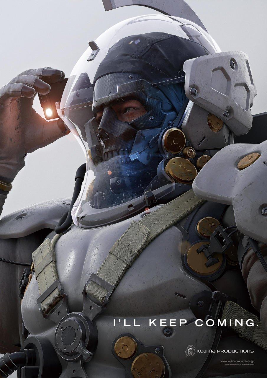 Люденс с логотипа Kojima Productions все таки не скелет - Изображение 1