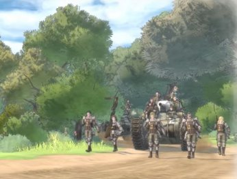 Valkyria Chronicles 4. Мир игры