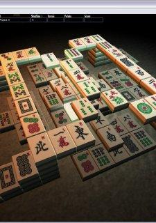 3D Mahjong Solitaire