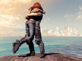 Гифка: любовь, пережившая время, вFallout4
