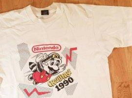 На аукционе продают вещи с самого первого турнира по играм Nintendo 1990 года за 5 тысяч долларов