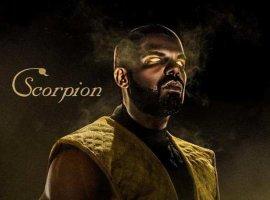 Достойный кроссовер: Дрейк и Канье Уэст вобразе Скорпиона иСаб-Зиро изMortal Kombat от BossLogic
