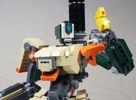 LEGO сделает наборы с персонажами из Overwatch