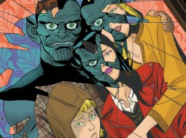 Зачем читать Meet the Skrulls? История осемье пришельцев-шпионов, скрывающихся наЗемле