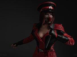 Безумная Скарлет иотважная Джейд вновом крутом косплее Mortal Kombat11