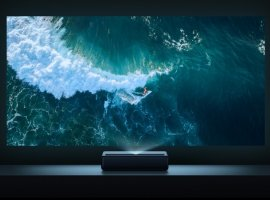 Анонс Xiaomi Mijia Laser Projection TV 4K: 4К-проектор с диагональю вывода картинки до 150 дюймов