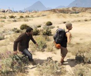 Гифка дня: логика GTA в Grand Theft Auto5 (даладно!)